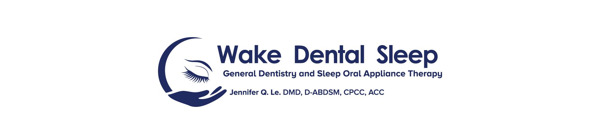 Wake Dental Sleep Dental Logo
